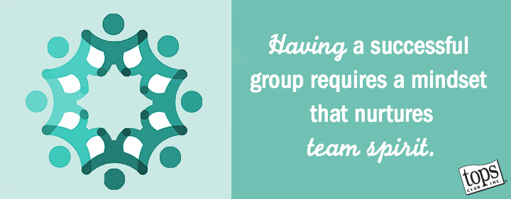 Having a successful group requires a mindset that nurtures team spirit.