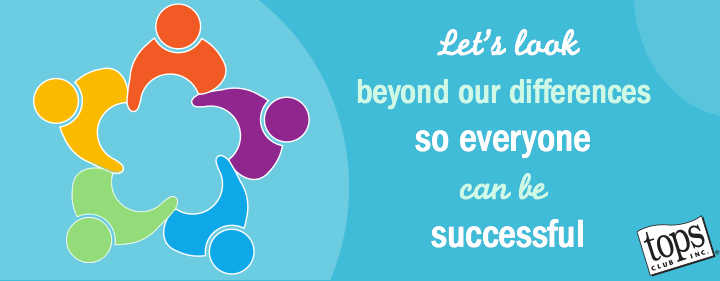 Let's look beyond our differences so everyone can be successful