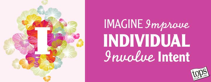 Imagine, Improve, Individual, Involve, Intent