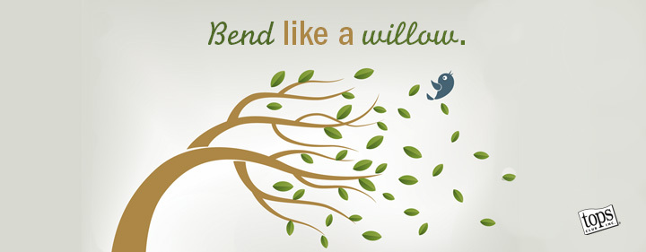bend like the willow tree