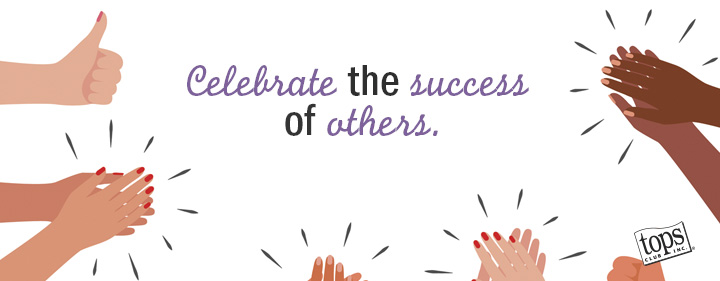 clapping and celebrating others success