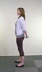 Yoga Pose Mini Backbend