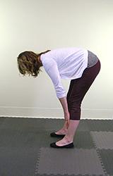 Yoga Pose Forward Bend