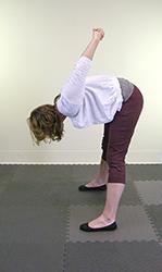 Yoga Pose Wide Leg Forward Fold
