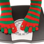 Scale with Holiday Socks