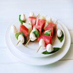 Watermelon kabob