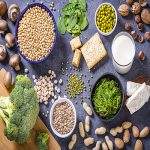 a variety of vegan protein sources